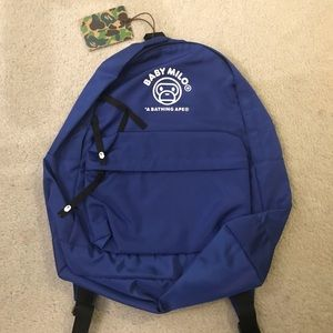 Bape Bags - Baby Milo (Bape) Blue Backpack